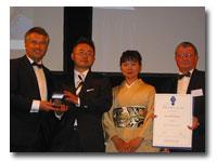 2009年モンドセクション銀賞授賞式